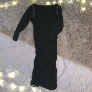 ANN TAYLOR Ruched Dress